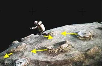 NASA Fakes Moon Landing! Photographic Proof!